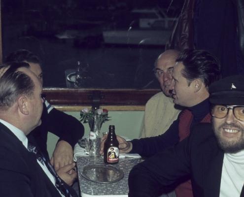 Bußtag Dampferfahrt: links: Horst Lechner, rechts: Peter Wolf