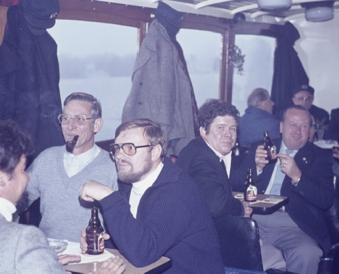 Bußtag Fahrt zum Wannsee: Peter Germelmann, Martin Hinze, Peter Wolf, Peter Ott, Heiner Krüger, Horst Lechner, Wilhelm Schindler & Bernhard Nölte