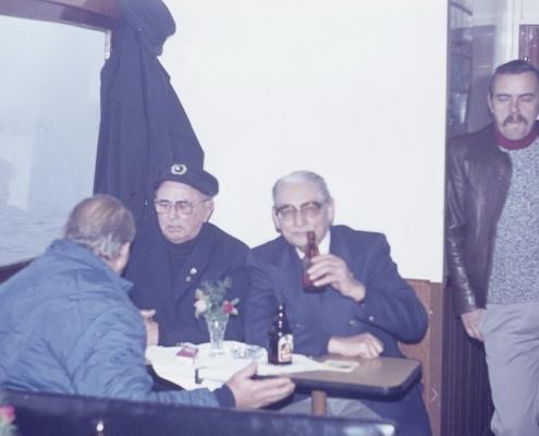 Bußtag Fahrt zum Wannsee: Heiner Krüger, Wilhelm Schindler, Bernhard Nölte & Helmut Grünberg