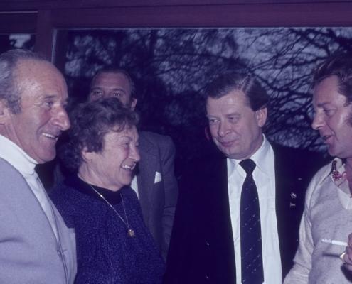 Bußtag beim Fahrten-Segler Wannsee: rechts Gerhard Virgils & Hajo Schönke