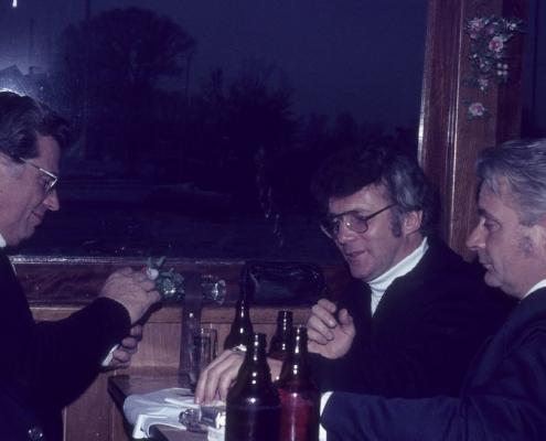Bußtag Fahrt zum Wannsee: Werner Kunze, Detlef Bürger & Heinz Boss