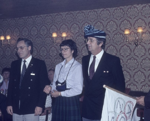 Ehepaarfahrt Braunschweig, Harz, Wolfsburg: Kam. Gabriel jun., Renate Schröter, Dietrich Balzer & Rudi Sachs