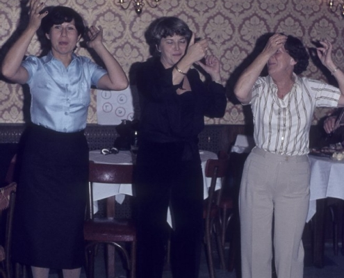 Ehepaarfahrt Braunschweig, Harz, Wolfsburg: Christel Nerlich, Erika Liesecke & Gerda Schäfer