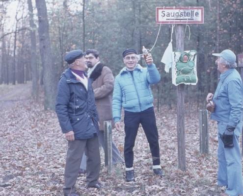 Bußtag: Egon Jagsch, Klaus Braschoß, Rudi Sachs & Gerhard Schäfer