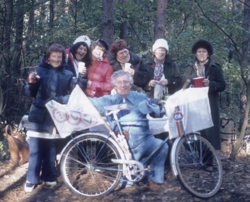 Bußtag: Gerda Schäfer, Hilde Richter, Susanne Krüger, Gerhard Schäfer, Hilde Sachs, Elfie Wollinger & Maria Kunze