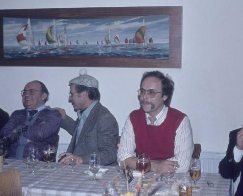 Bußtag: rechts: Heinz Boss