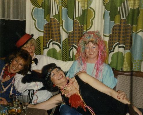 Tina Saegert, Heidrun Großpietsch, Renate Schröter und Sonja Schlaak