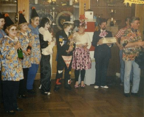 Und hier die Kostüm-Preisträger (Germelmann, Balzer und Balzer)