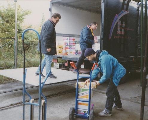 Hans-Jürgen Saegert, Manfred Schröter und Norbert Kruschel