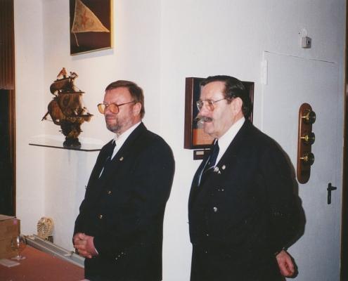 Peter Wolf und Heinz Scholz