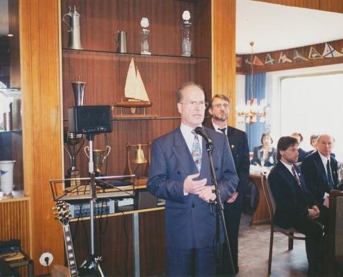 Jubiläumsempfang 75 Jahre SC Nordstern (Sigurd Hauff, Bezirksbürgermeister von Spandau)