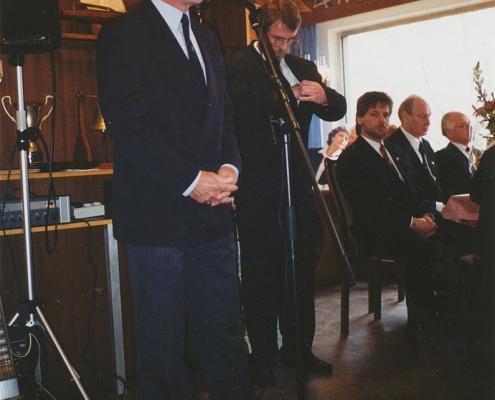 Jubiläumsempfang 75 Jahre SC Nordstern (Prof. Heinrich Schoop, VSaW und DSV-Vizepräsident)
