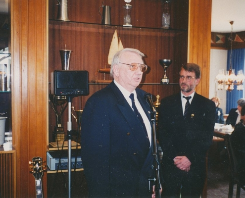 Axel Götzinger, 1. Vorsitzender I.G. Rust
