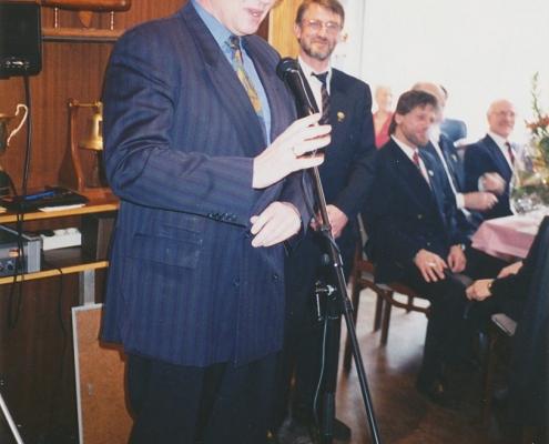 Jubiläumsempfang 75 Jahre SC Nordstern (Detlef Dzembritzky, Bezirksbürgermeister von Reinickendorf)