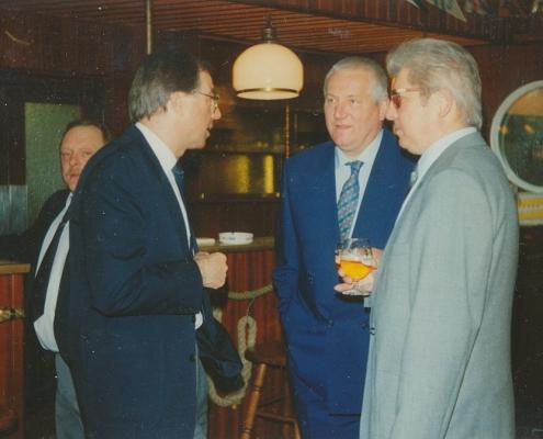 Gerd Bauspieß, Mannfred Schröter, Dr. Steinberg und H. Sanis