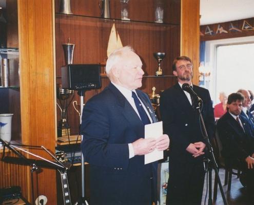 Jubiläumsempfang 75 Jahre SC Nordstern (Arthur Doerwaldt, DSV Kreuzer-Abteilung)