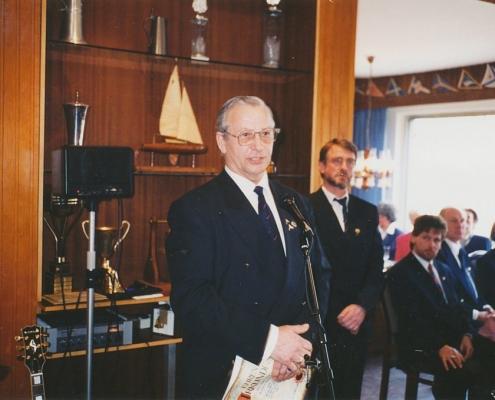 Jubiläumsempfang 75 Jahre SC Nordstern (G. Woitalla, 1. Vorsitzender Bezirk Tegel)