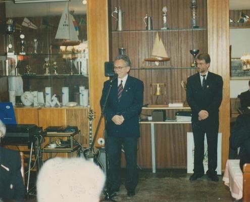 D. Maes, Vizepräsident des Landessportbundes