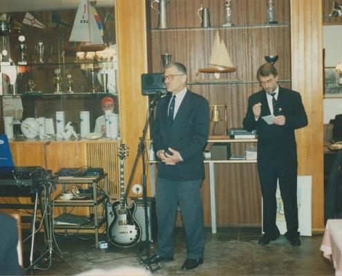 Dr. Schoop und M. Richter