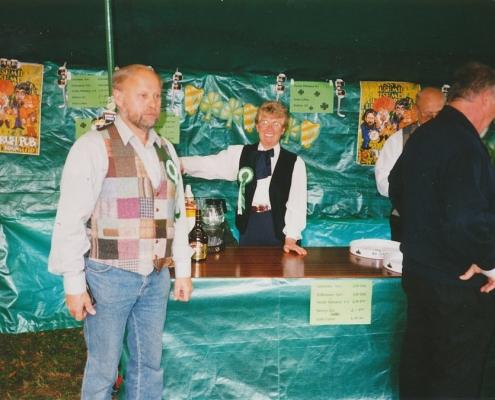 """Absegeln 15.10.1995 (Frank & Renate Ehlert, """"Irisch Pub"""")"""