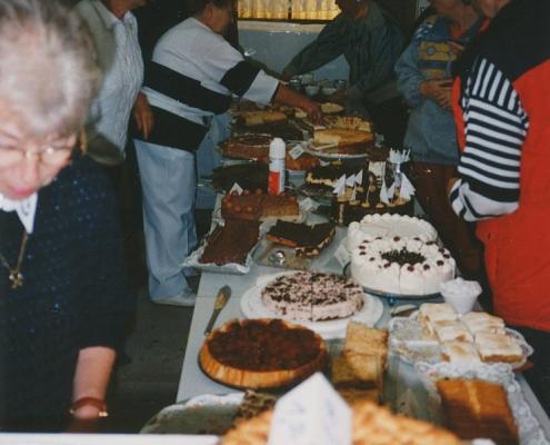 Absegeln 15.10.1995 (Edeltraud Braschoß und die Kuchenbar)