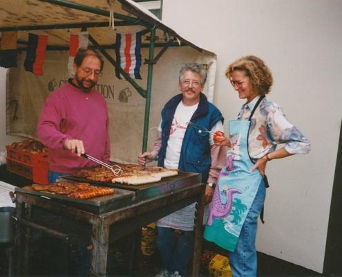 Absegeln 15.10.1995 (Willi Voß, Bernd Rothermund, Monika Voß)