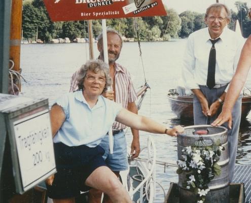 Stiftungsfest 05.08.1995 (Schulzens liefern Bier aus Hamburg)