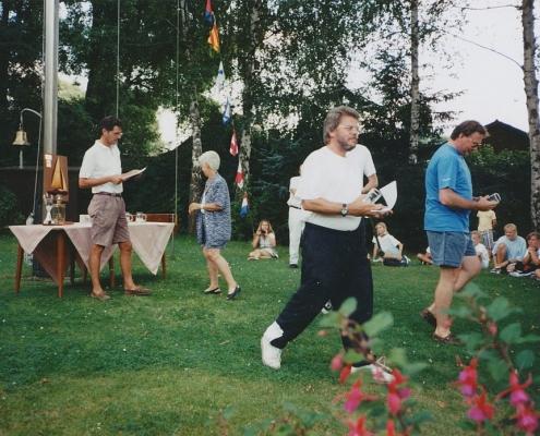 Sommerwettfahrt (Wolfgang Schlaak, Marlu Lehmann, Rainer Winkelmann und Bernhard Gutsche)