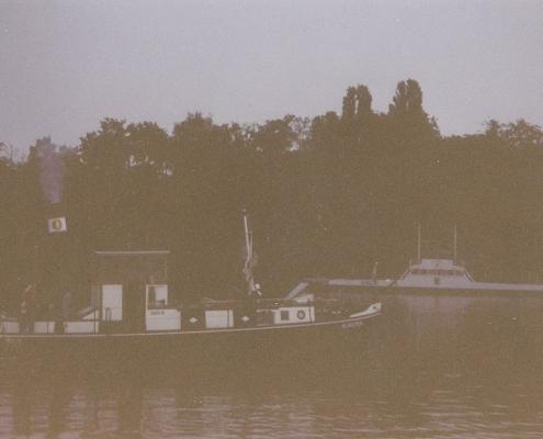 Im August Schlepp nach Neuruppin