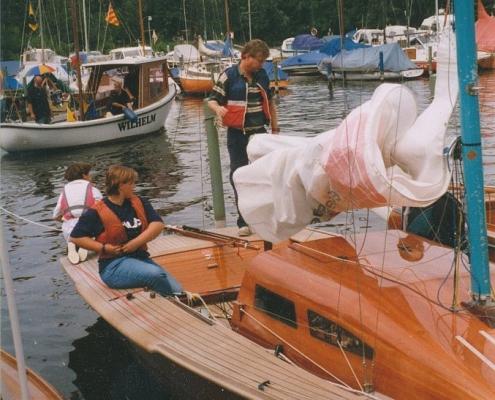 Jugend segelt 20er